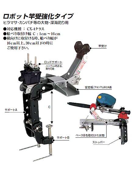 ロボット竿受強化タイプ 電動リール用 ミヤエポック(ミヤマエ)
