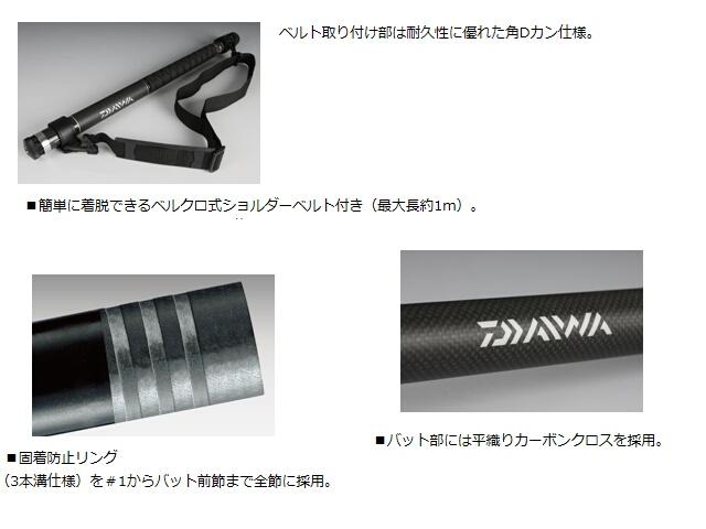 Landing pole II Daiwa 【40/4m】