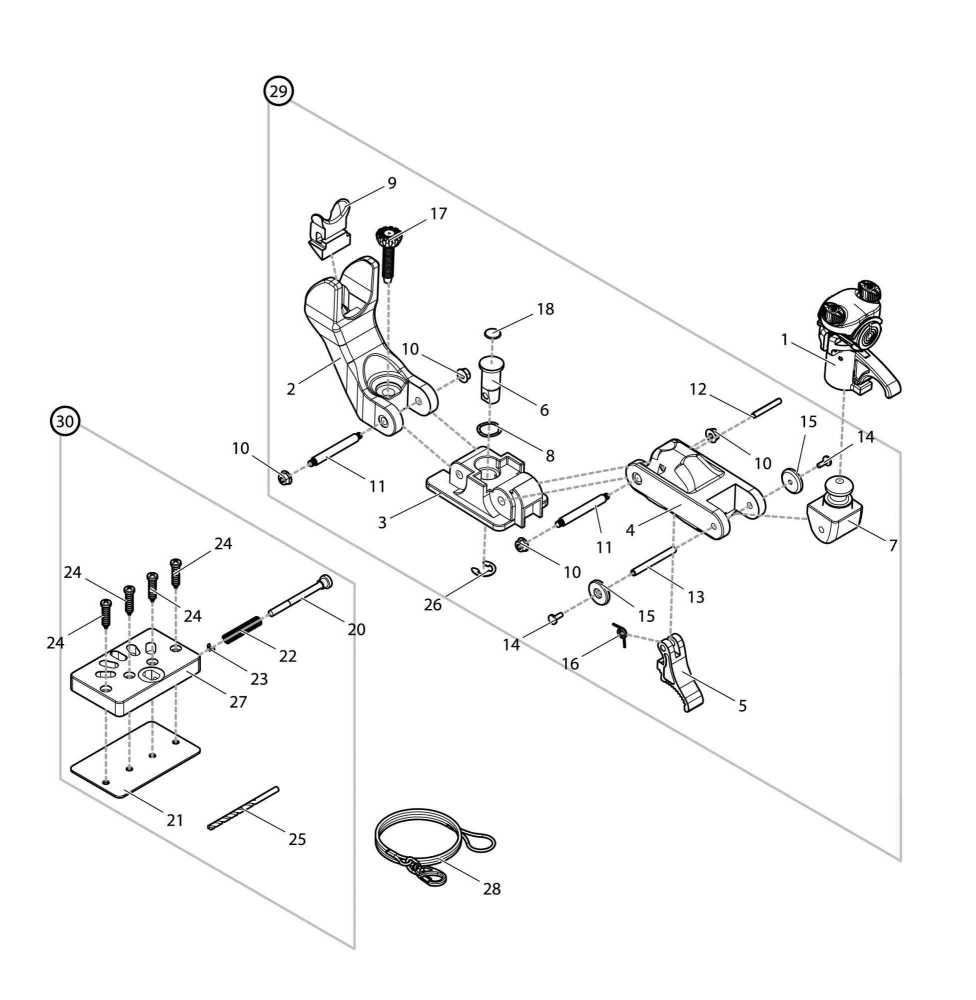 【部品】 ベースセット (09083) パーツNo.30 [第一精工 ラーク2500]