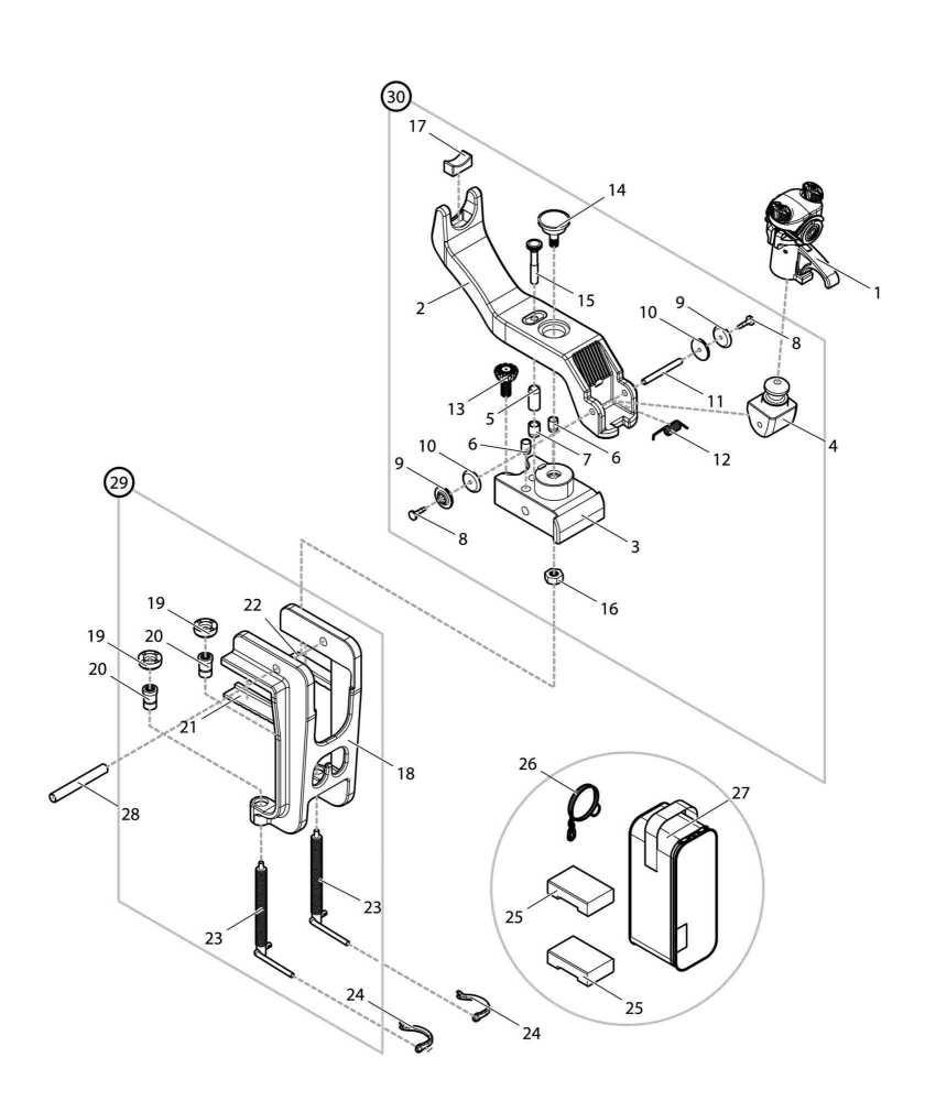 【部品】 クランプ (09214) パーツNo.18 [第一精工 ラーク18号DX]