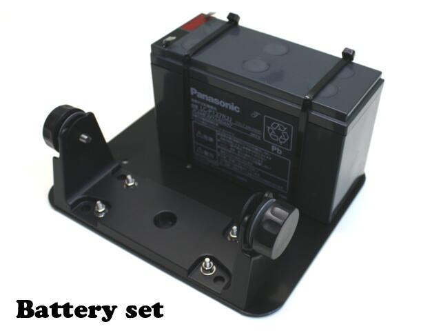 バッテリーセットBS07 HONDEX(ホンデックス・本多電子)
