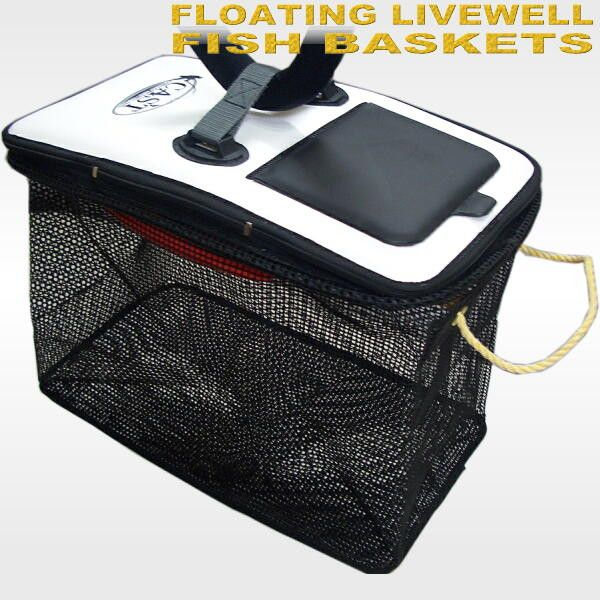 Floating livewell fish baskets CAST