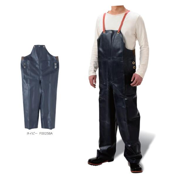 Sサンテックス胸付ズボンII型W (弘進ゴム/KOHSHIN) 【パンツのみ】サロペット