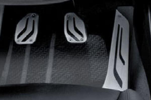 ☆BMW純正☆BMW M Performance ステンレス・スチール・ペダル・セット M3(F80) M4(F82) M5(F10) M6(F13/F12/F06) MT車 左ハンドル車用