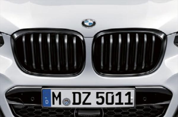 BMW純正 送料無料 メーカー取り寄せ品 キャンセル不可 ☆BMW純正☆BMW M Performance キドニー まとめ買い特価 G02 グリル X3 X4 ブラック おすすめ特集 G01