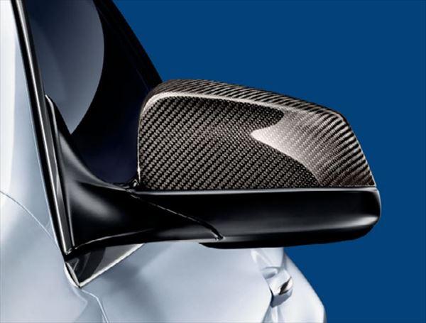 ☆BMW純正☆BMW M Performance カーボン・ミラー・カバー 左右セット ハーフ・カバー・タイプ (F10/F11/F13/F12/F06 除M5/M6) 前期用