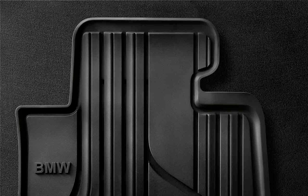 ☆BMW純正☆オールウェザー・フロアマット ブラック(Standard) フロント・セット 3シリーズ(F30/F31) 320i xDrive 右ハンドル車用
