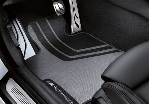 ☆BMW純正☆BMW M Performance フロア・マット フロントセット 6シリーズ(F13/F12) 左ハンドル車用