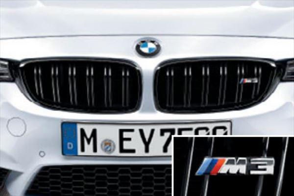☆BMW純正☆BMW M Performance ブラック・キドニー・グリル 左右セット M3(F80)