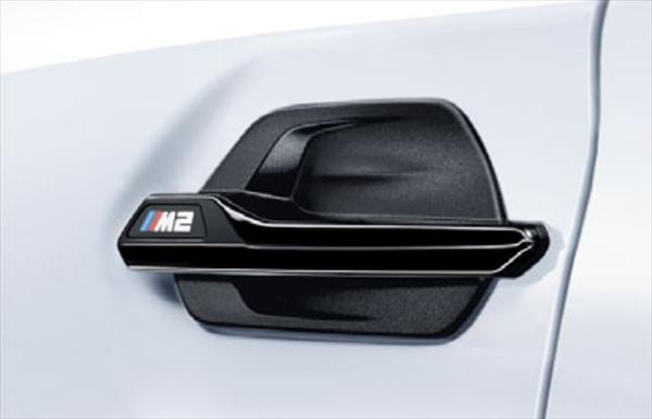 ☆BMW純正☆BMW M Performance サイド・ギル ハイグロス・ブラック 左右セット M2クーペ(F87)