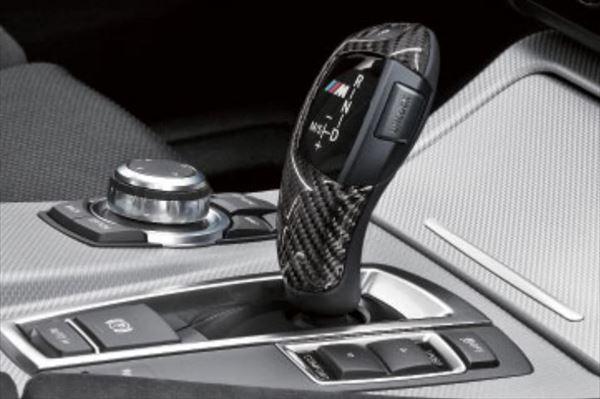☆BMW純正☆BMW M Performance カーボン・セレクター・レバー・グリップ・カバー 5シリーズ(F10/F11) AT車(~2012.3) 左ハンドル車用