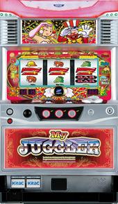 【北電子】マイジャグラー2K(2012年)◆コイン不要機セット◆パチスロ実機【中古】