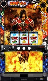 【KPE】悪魔城ドラキュラ~ロードオブシャドウ~◆コイン不要機セット◆パチスロ実機【中古】