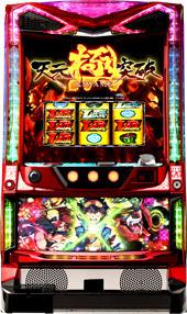 【スパイキー】パチスロ 天元突破グレンラガン極◆コイン不要機セット◆パチスロ実機【中古】