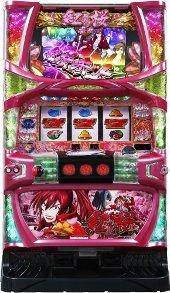 【ベルコ】紅き魂は桜の如く◆コイン不要機&ゲーム数カウンターセット◆家庭用パチスロ実機【中古】