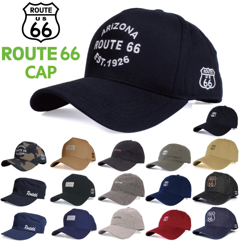 ROUTE66 CAP キャップ サイズ調整可能です ルート66 帽子 メンズ レディース ストリート アメカジ 春夏 オールシーズン 海 サングラス 激安超特価 アウトドア 山 フェス バイカー ローキャップ キャンプ 送料込 かわいい SNS おしゃれ プチ #帽子 バイク