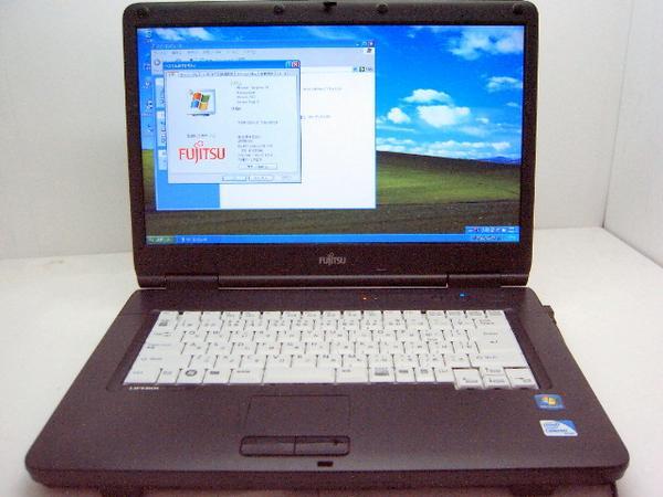 富士通 LifeBook A540/A 2.2GHz 160G マルチドライブ Windows7搭載【中古】【送料無料】【あす楽対応】