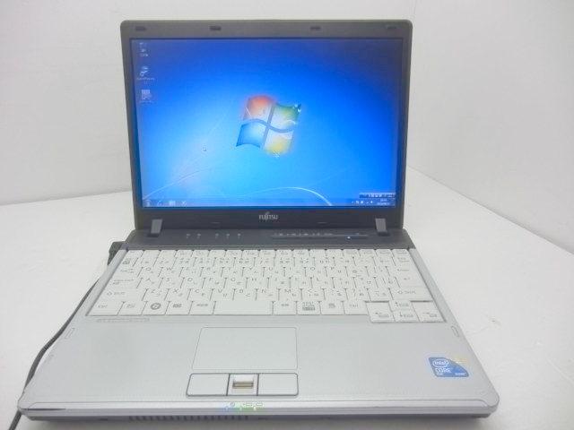 【台数限定】Windows7搭載 P750/A/ C2D 1.4GHz/2GB/160GB/無線LAN 【中古】【送料無料】【あす楽対応】