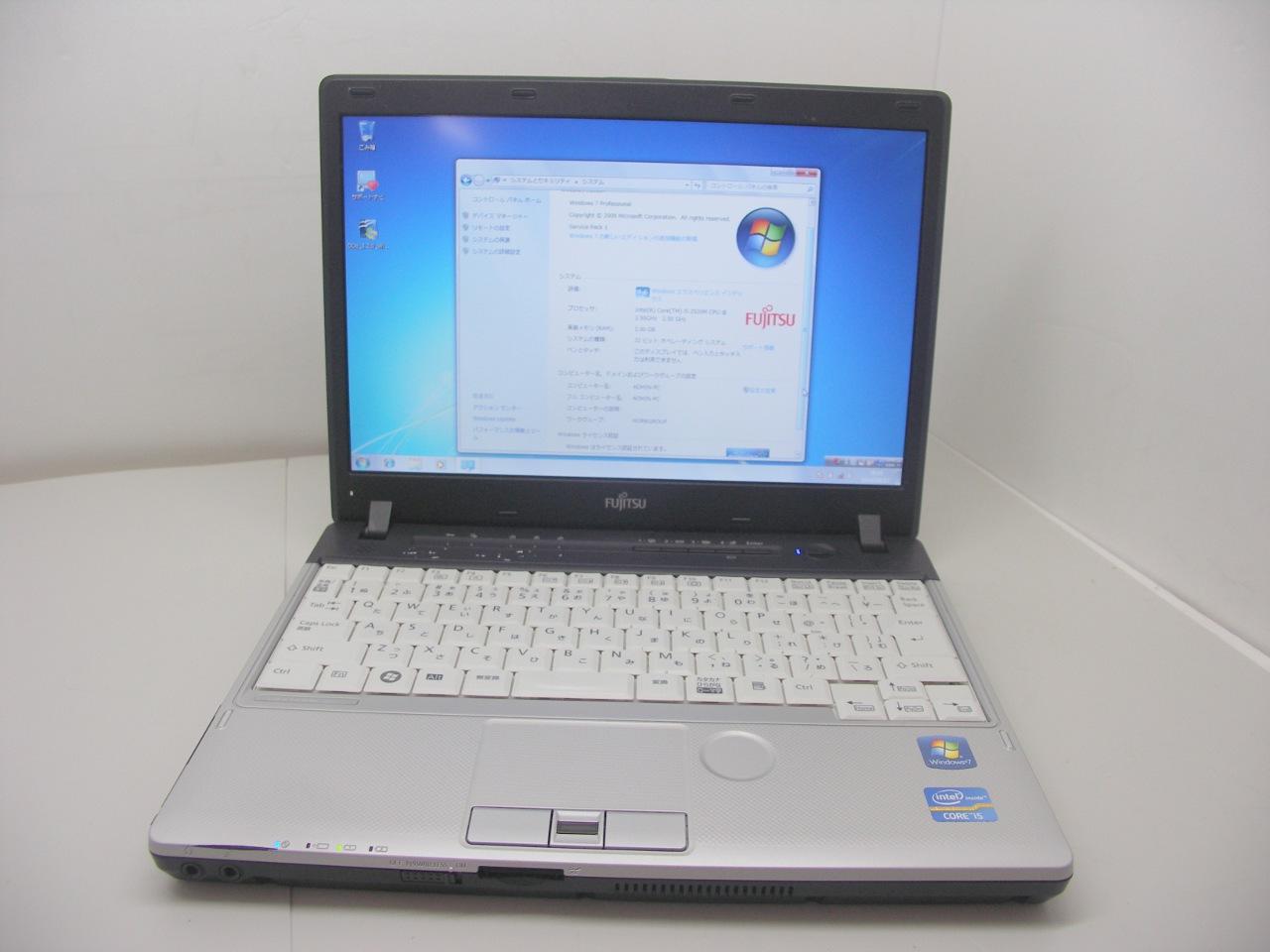 Windows7搭載 P771/D Corei5 2520M 2.5GHz/2GB/250GB/無線LAN/マルチ【中古】【送料無料】【あす楽対応】