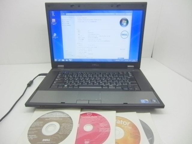 Windows7 搭載 E5510 i5 M520 2.4GHz 2GHz 160GB DVDRW【中古】【送料無料】【あす楽対応】