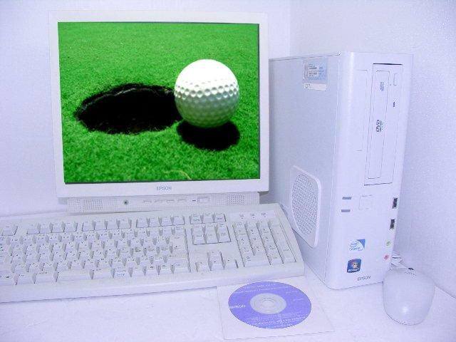 Windows7搭載 AT971E 2.6GHz 2GB 160GB 19インチ液晶 【中古】【液晶モニタセット】