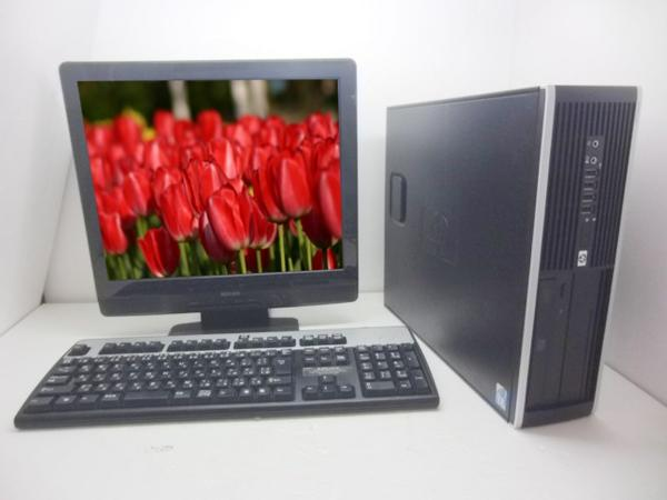 HP 8100 i5 3.2GHz 3GB 250GB  WINDOWS7 19インチセット【中古】【送料無料】【あす楽対応】【あす楽_土曜営業】05P12May14