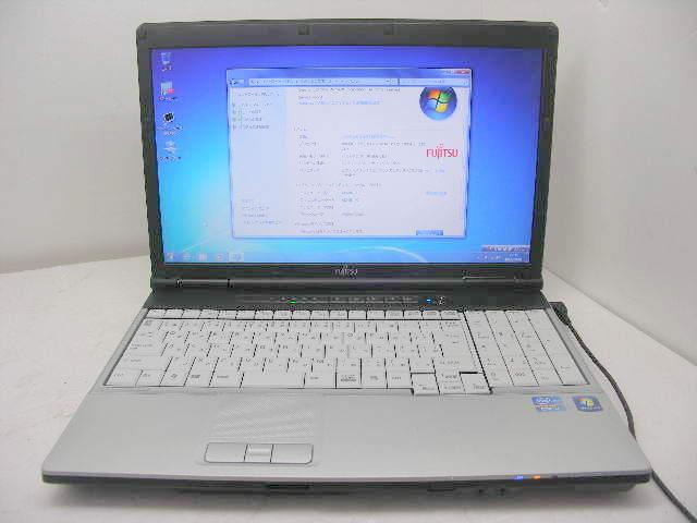 E741 Corei7 2640M 2.8GHz 250GB DVD-RAM WINDOWS7 OFFICE 無線LAN ワイド画面【中古】【送料無料】【あす楽対応】【あす楽_土曜営業】