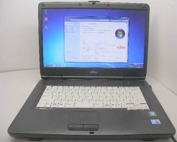 A6390 Core i3 2.1GHz 160GB DVD-RW Windows7 OFFICE ワイド画面【中古】【送料無料】【あす楽対応】【あす楽_土曜営業】