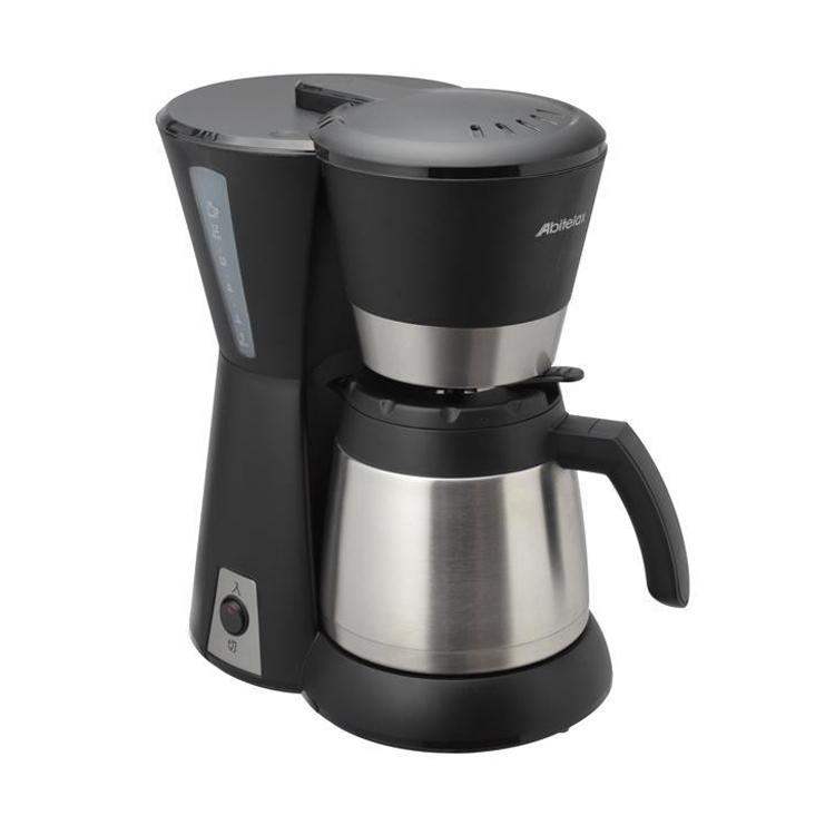 Abitelax(アビテラックス) コーヒーメーカーステンレスタイプ ブラック&シルバー ACD-88W-K