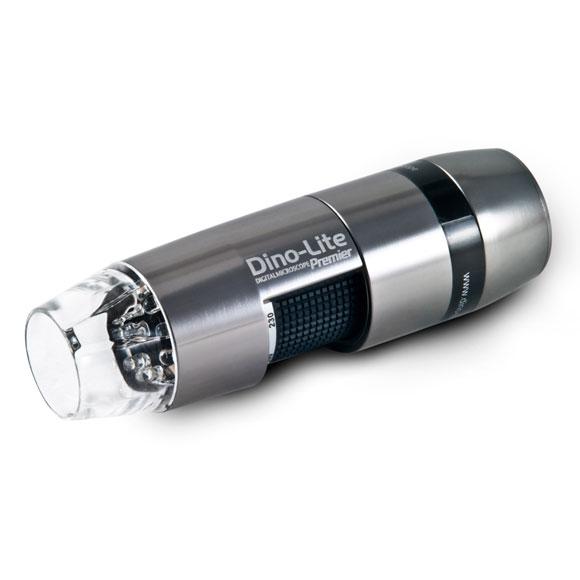 【マイクロスコープ テレビ接続】Dino-Lite Premier HDMI(DVI) 【DINOAM5018MT/230倍/HDMI モニタ/白色LED×8/アルミ合金】【送料無料】 マイクロスコープ TV マイクロスコープ 低価格 精密機器 工場 検査 検品 美容 学校 実験 観察 講義