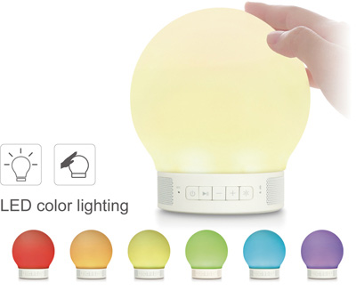 【送料無料/インテリアライト】Smart Lamp Speaker-mini【ワイヤレススピーカー H0017】LED ランプ 間接照明 寝室 テーブルランプ フロアライト フロアランプ スピーカー Bluetooth 対応 スマホ タブレット USB インテリア 照明 足元灯 玄関 階段 ハンズフリー おしゃれ