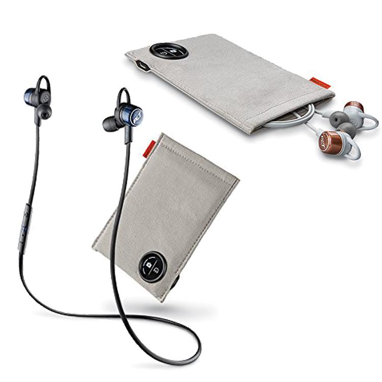 【bluetooth イヤホン】Plantronics ワイヤレスイヤホン BackBeat GO 3 充電ケース付 【ブラック/グレー】【送料無料】Bluetooth iPhone Android スマホ 携帯 スマートホン ブルートゥース 無線 イヤフォン