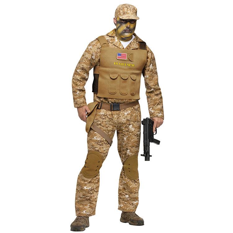 【ハロウィン コスプレ】 Navy Seal ADLT CSTM ■ コスチューム コスプレ 衣装 仮装 ハロウィーン halloween パーティー 結婚式 二次会 余興 ハロウィン 出し物 歓迎会 送迎会