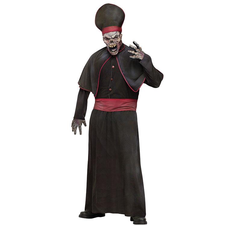 【ハロウィン コスプレ】 Zombie High Priest ADLT CSTM ■ コスチューム コスプレ 衣装 仮装 ハロウィーン halloween パーティー 結婚式 二次会 余興 ハロウィン 出し物 歓迎会 送迎会