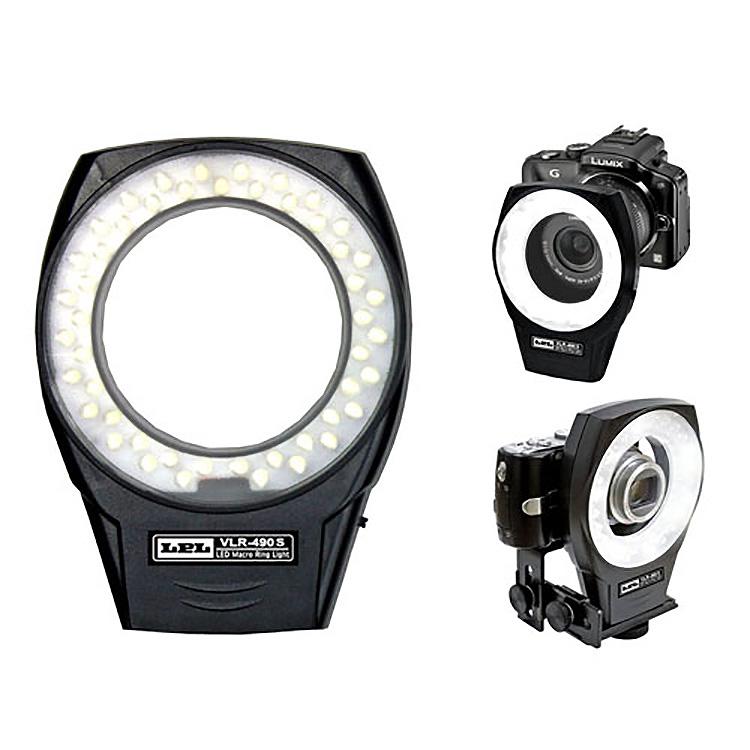 【撮影 照明】 LPL LEDマクロリングライト VLR-490S 【L26852】【送料無料】