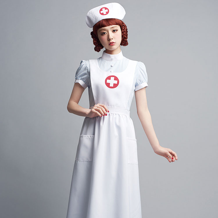 4cd16ba6b2880 Cute LLL Retro Nurse costume fancy dress cute Halloween party costume  wedding parties entertainment party new ...