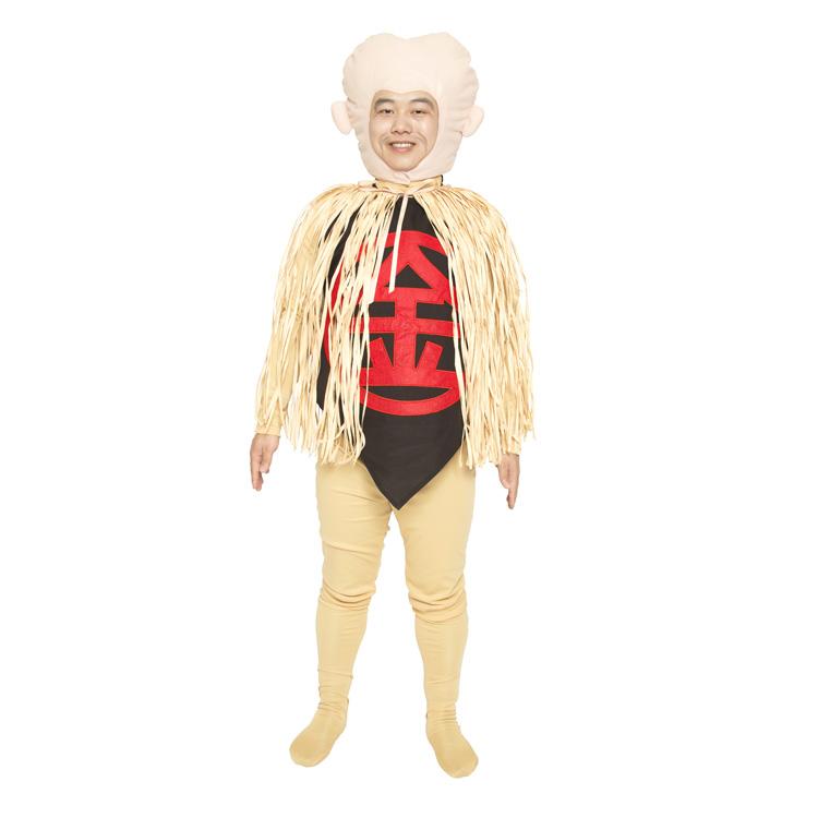 鬼太郎的鬼太郎不正式來的老大爺服裝人物萬聖節派對婚禮接着的宴會餘興忘年會新年會上演節目歡迎會接送會也做,有趣的顯眼的男性人大人男人事情試膽量