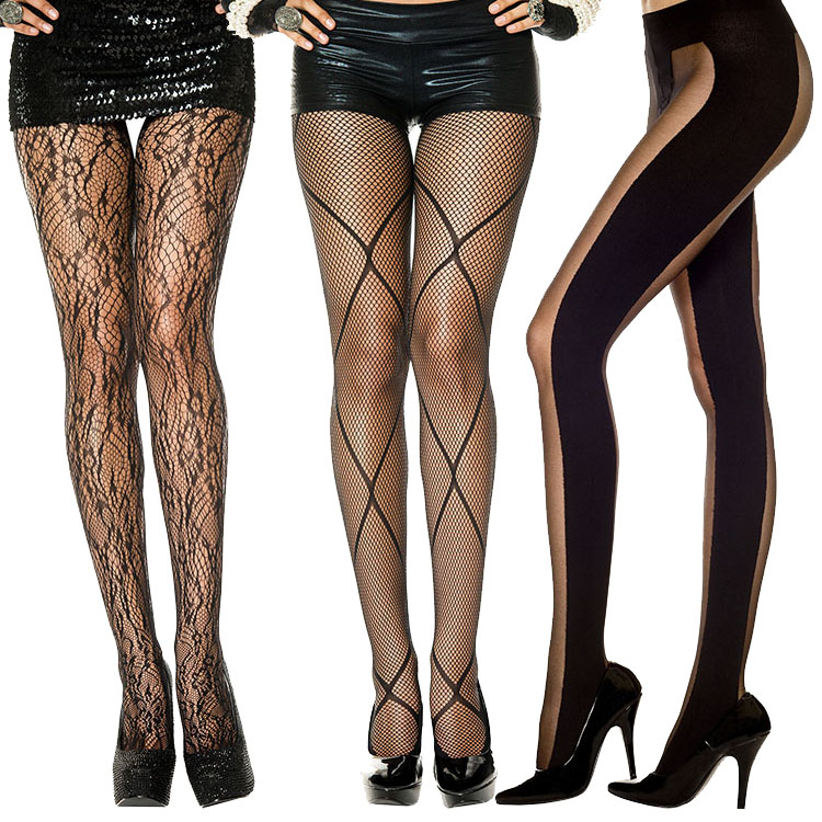 Charming Stockings Knee High For Accessory Halloween Party Garters Having A Cute  Fashion That Stockings Black Costume Play Costume Disguise Clothes  Pantyhose ...
