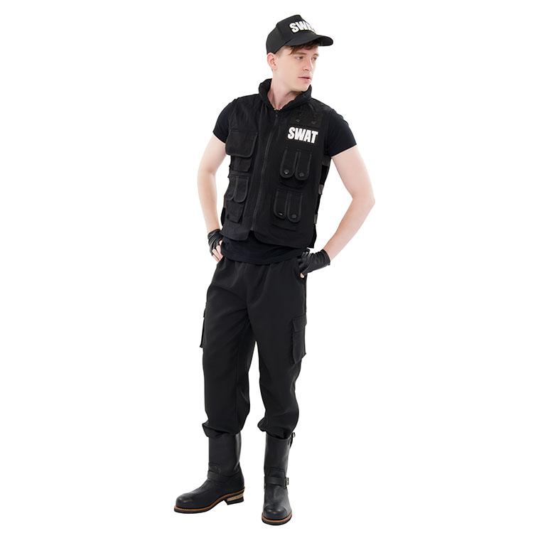 NYW M1404 SWAT SWAT costume police COP Halloween fancy dress costumes Halloween menu0027s cosplay Halloween menu0027s man wedding parties entertainment party new ...  sc 1 st  Rakuten & miscellaneous goods and peripheral equipment ERRAND SHOP | Rakuten ...