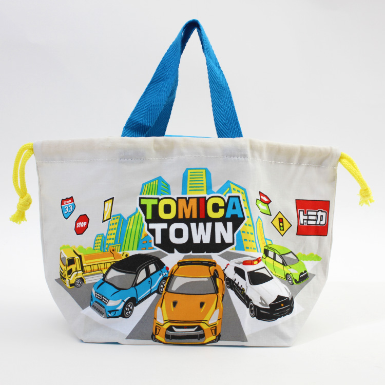 a0528dc3637d Lunch drawstring purse character Tomica drawstring purse bag child kids  kindergarten primary schoolchild holiday making outing excursion athletic  meet