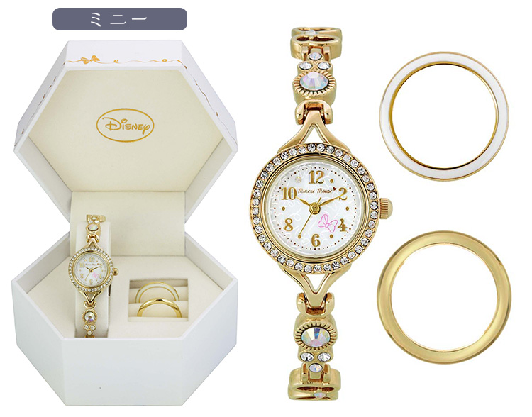 【腕時計 レディース】 ディズニー/チェンジリングウォッチ 【WD-M04】キャラクター ディズニー 腕時計 チェンジリング おしゃれ 女性  レディース プレゼント 贈り物 ギフト サンフレイム
