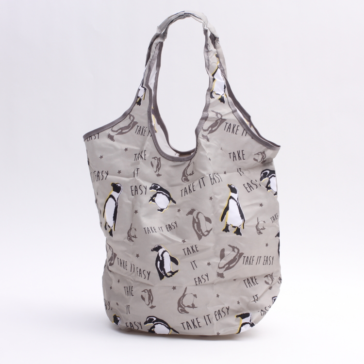 Shopping Eco bag die cut porch Eco bag mobile phone subbag outing shopping  shopping penguin with