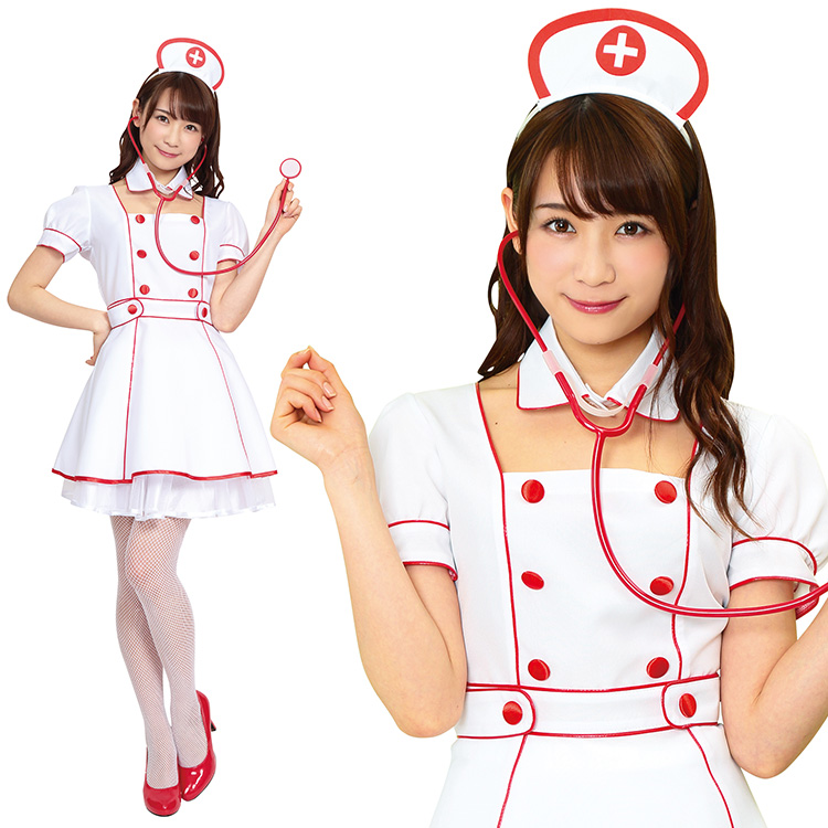 Cute TG VIP celebrity nurse costume fancy dress cute Halloween party costume wedding parties entertainment party new yearu0027s Party at welcome party  sc 1 st  Rakuten & miscellaneous goods and peripheral equipment ERRAND SHOP | Rakuten ...