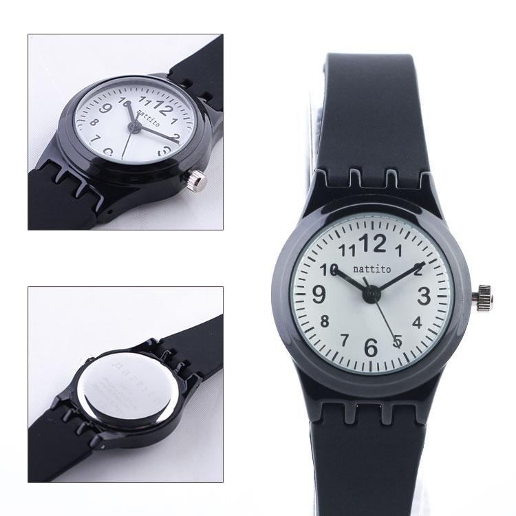 【腕時計】ミニラ【ホワイト/ブラックホワイト/グレー/ネイビー/ASS107】腕時計 シンプル おしゃれ スタイリッシュ 女性 レディース プレゼント クリスマス ギフト フィールドワーク nattito