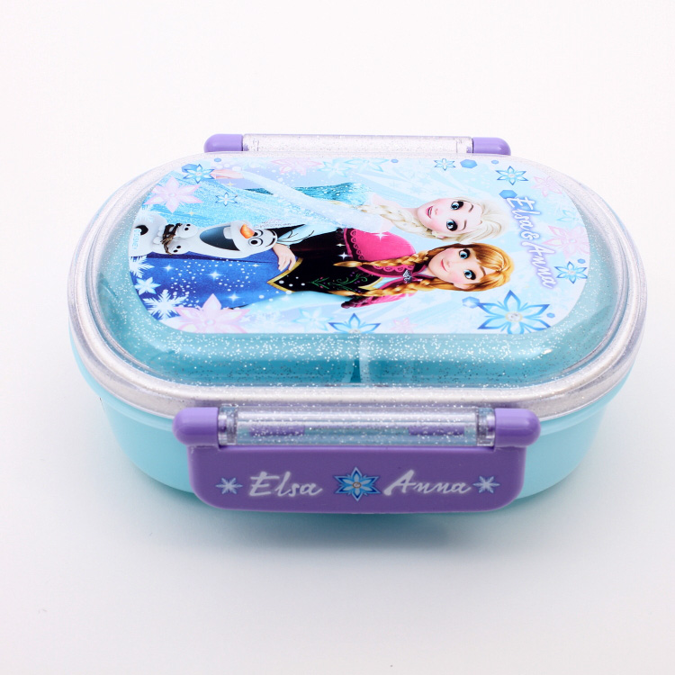 Disney Character FROZEN Plastic Lunchbox Sandwich Box Container