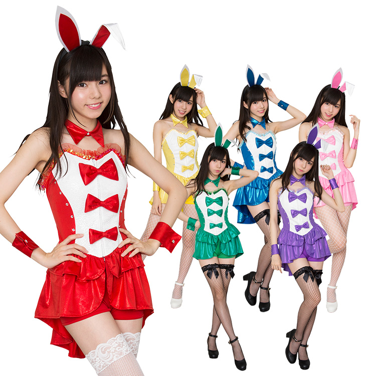 Cute Halloween Party Costume Coordinates Idol Closet IDOL CLOSET Which IC  Idol Bunny Girl Halloween Clothes Disguise Has A Cute