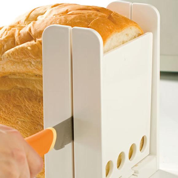 食パンを簡単キレイに好みの厚さにカット 食パンカットガイドDX SCGW3 食パン お手軽 ※アウトレット品 カット 完全送料無料 簡単 ホームベーカリー