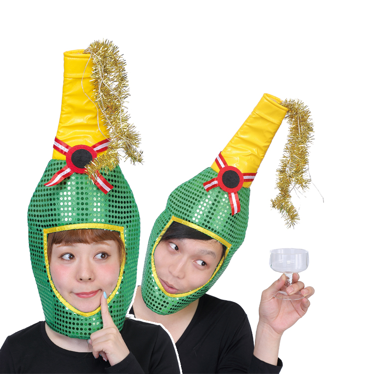 c3ebcfbf315b Cheap champagne Hat Christmas Santa reindeer glow XM-15 glow costume Santa  Claus costume fancy ...