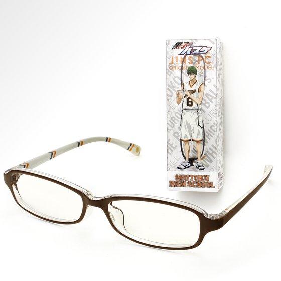 黒子のバスケ×BANDAI×JINS PC メガネ 第一弾 秀徳高校モデル(緑間真太郎)