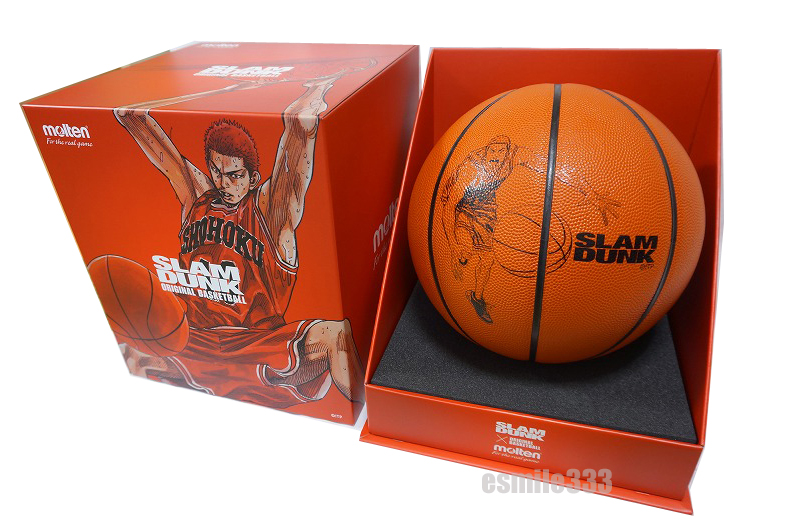 Slam dunk X Molten-limited basketball SLAM DUNK molten Sakuragi elevated passageway leading to the stage JB-77 7 ball MTB7WW-SD